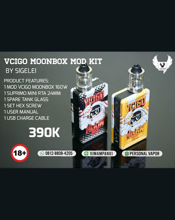 Sigelei Vcigo Moon Box 160w Starter Kit