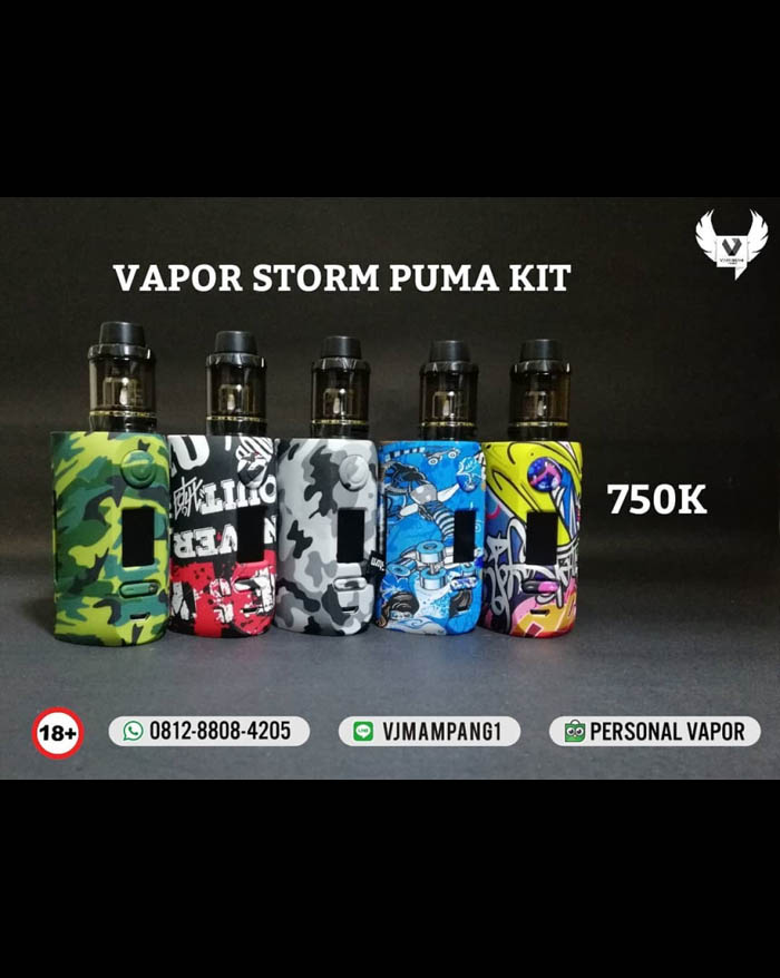 Vapor Storm Puma 200w TC Mod Starter Kit