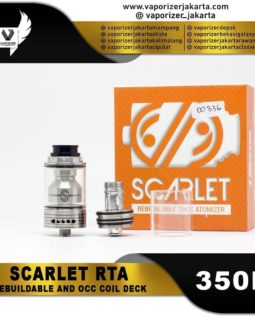 SCARLET RTA/RBA 24MM (Authentic)