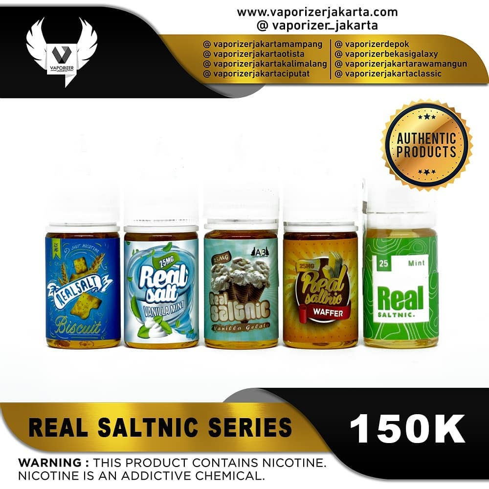 REAL SALT NIC SERIES