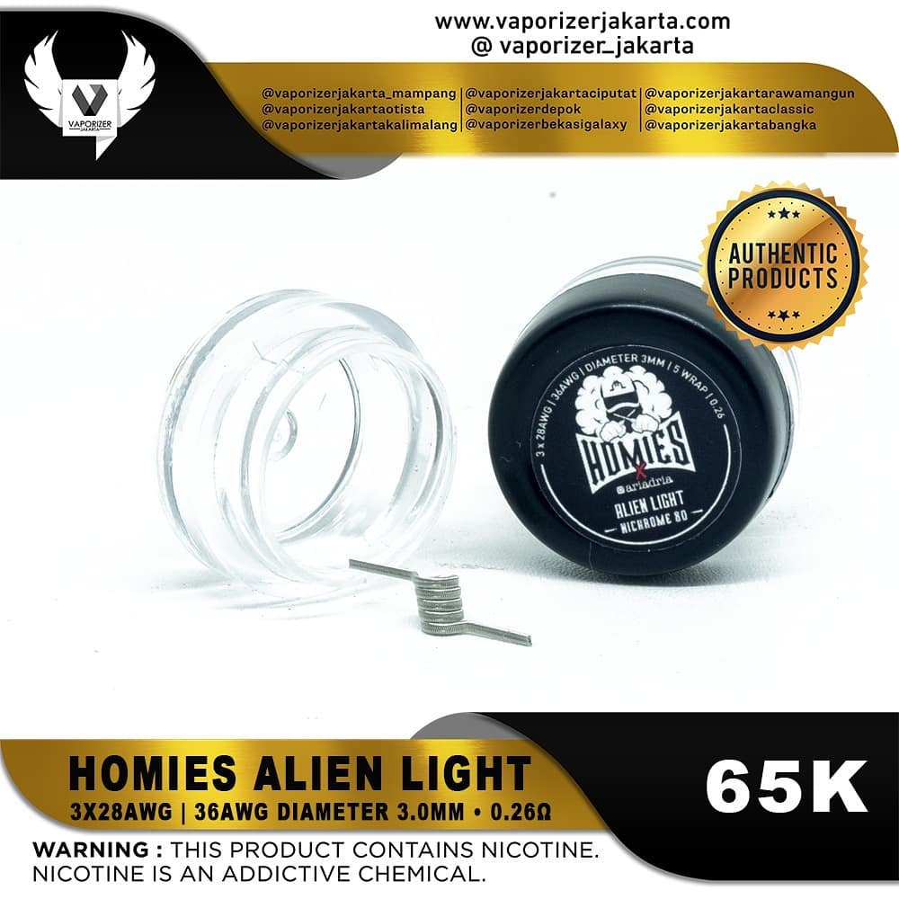 HOMIES ALIEN CLAPTON LIGHT (AUTHENTIC)