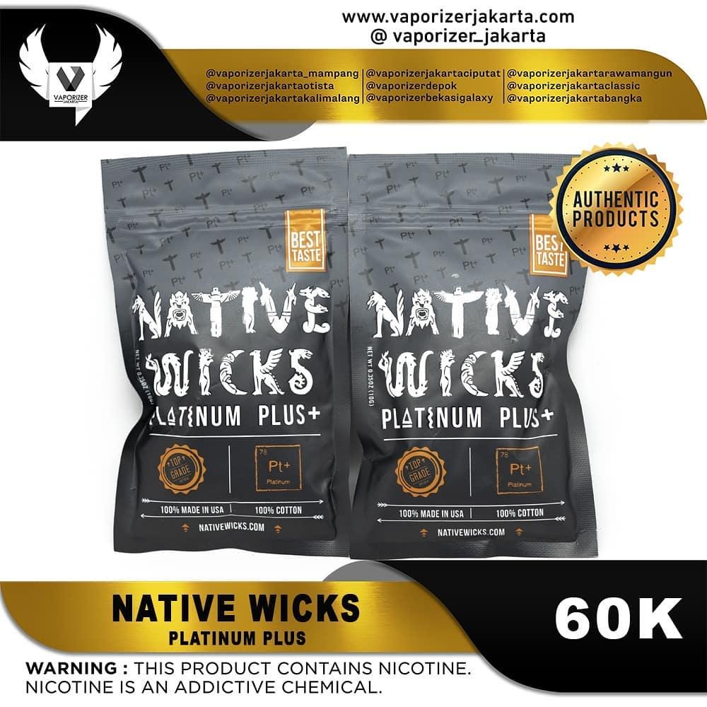 NATIVE WICKS PLATINUM + (Authentic)
